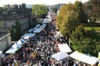 Plymouth road during Goosey Fair