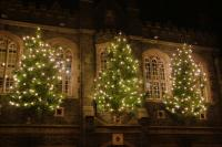 Town Hall Christmas decorations