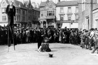 Entertainers on Bedford Square