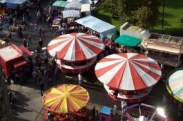 Goose Fair Stalls