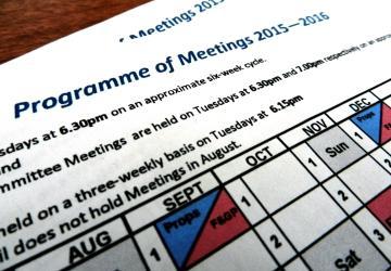 Program of Meetings