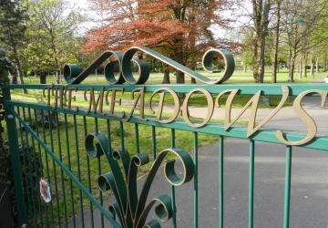 The Meadows entrance gate