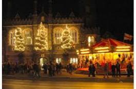 Tavistock Dickensian Evening Photo of Town Hall